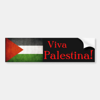 Viva Palestina! Bumper Sticker