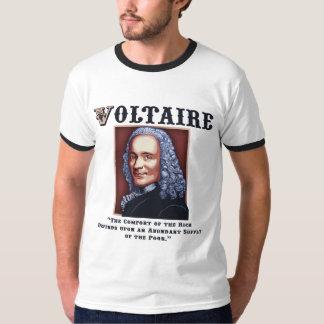 Voltaire Needs the Poor T-shirt