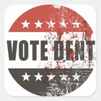 Vote Dent sticker