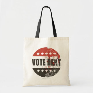 Vote Dent sticker Budget Tote Bag