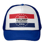 Vote Trump for President 2016 Navy Blue Hat