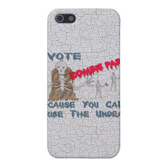 VOTE ZOMBIE PARTY iPhone 5/5S COVER