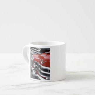 WA, Seattle, classic American automobile. Espresso Mug