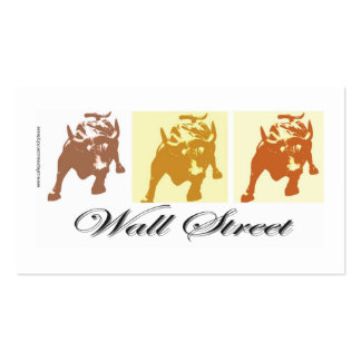 Wall Street Pack Of Standard Business Cards