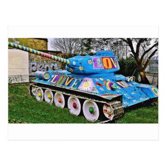 War & Peace Tank Postcard
