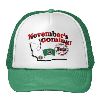 Washington Anti ObamaCare – November's Coming! Cap