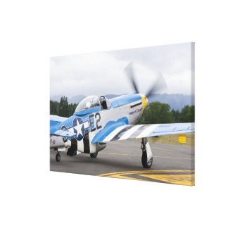 Washington, Olympia,  military airshow. Canvas Print