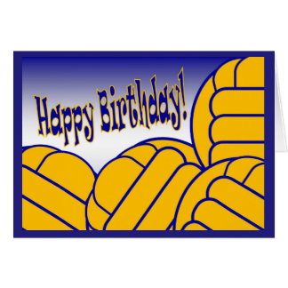 Water Polo - Happy Birthday from Biggest Fan! Greeting Card