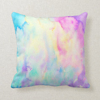 Watercolor Abstract Pattern Pillow Throw Cushions