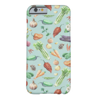 Watercolor Veggies & Spices Barely There iPhone 6 Case