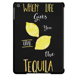 Watercolor, When life gives you lemons Case For iPad Air
