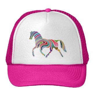 Waved Horse Cap