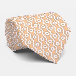 Wavy Polka Dots Pattern Tie