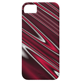 Wavy Red iPhone 5 Cases