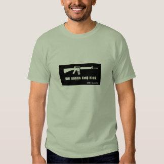 We Shoot EMO Kids Tee Shirt