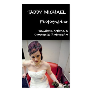 wed7, TABBY MICHAEL, Photographer, Weddings, Ar... Pack Of Standard Business Cards
