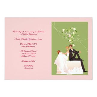 Wedding 13 Cm X 18 Cm Invitation Card