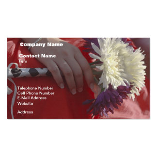 Wedding Bouquet Pack Of Standard Business Cards