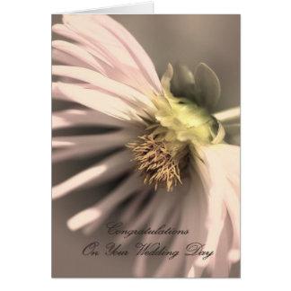 Wedding Day - Congratulations Greeting Card
