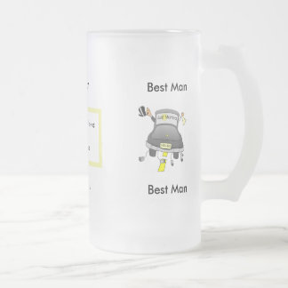Wedding Party Glass Beer Mug