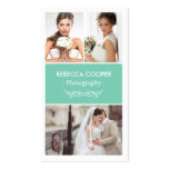 Wedding Photo Collage Elegant Clean Photography Pack Of Standard Business Cards