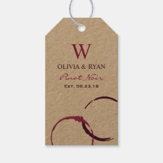 Wedding Wine | Personalized Favor Tags