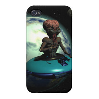 Weird Wheels Outa This World iPhone 4/4S Case