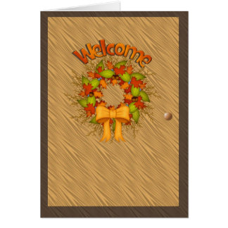 Welcome Harvest Card