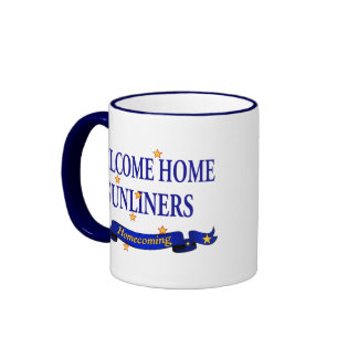 Welcome Home Sunliners Ringer Mug