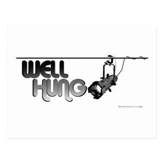Well Hung (Ellipsoidal) Postcard