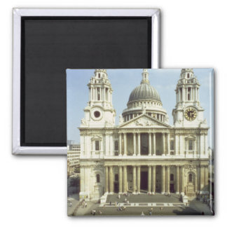 West front of St. Paul's Cathedral, designed by Si Square Magnet