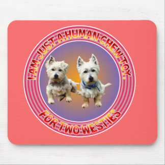 West Highland Terriers Mousepad. Mouse Pad