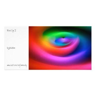 Whale Eye II Personalized Photo Card