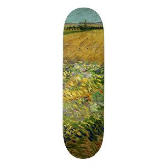 Wheatfield by Vincent Van Gogh Skate Boards