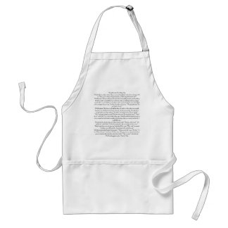 When God Created The Military WifeThe Good Lord... Standard Apron