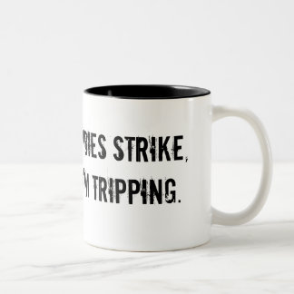 When the zombies strike coffee mug