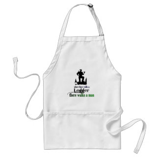 Where There Walks a Logger Standard Apron