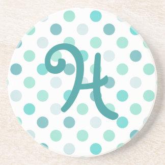 Whimsical Monogram stone Coaster