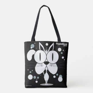 White Cat Custom All-Over-Print Tote Bag