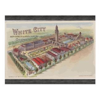 White City 63rd St And South Park Av Chicago Postcard