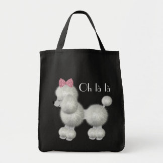 White French Poodle Bag