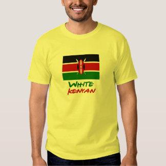 White Kenyan T Shirts