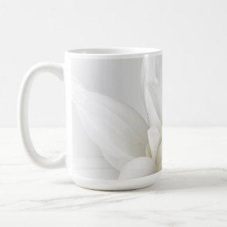 White on White Floral Mug 2