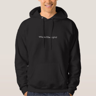 Who is Ellie Light? Hooded Pullover