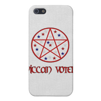 WICCAN VOTER iPhone 5/5S COVERS