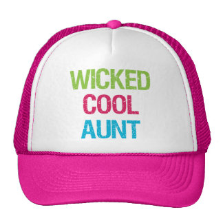 Wicked Cool Aunt Cap