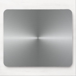 wide circular steel mouse pad