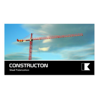 Widescreen 335 - Red Crane Pack Of Standard Business Cards