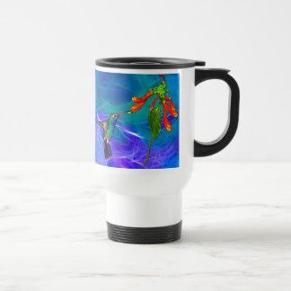 Wild Hummingbird Bird-lover's Art Series Stainless Steel Travel Mug
