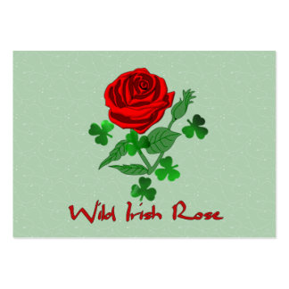 Wild Irish Rose Pack Of Chubby Business Cards